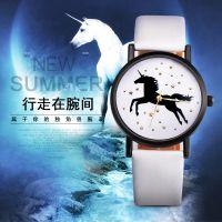 新款正品 OKTIME 时尚休闲星星独角兽手表 潮流学生手表