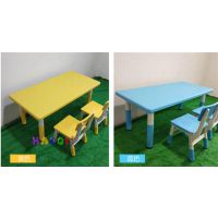 西安幼儿园设备实木课桌椅生产厂家