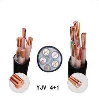 金环宇电缆线YJV 5芯10/16/25/35/50四相五线4+1国标铜芯电缆10米起售