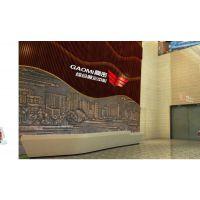 展厅中心玻璃钢接待台 美容院异型玻璃钢前台