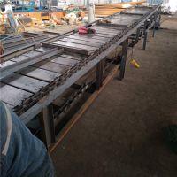 链板输送机结构特点各种规格 倾斜式链板输送机分类制造厂家潮州