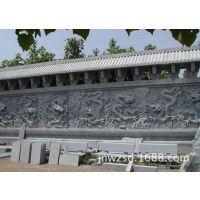供应农村迎门墙瓷砖壁画 迎客松浮雕背景墙生产厂家