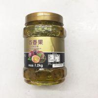 鲜活生姜花果茶 金橘茶酱冲饮 优果C金桔茶含果肉饮料茶 1.1kg/瓶