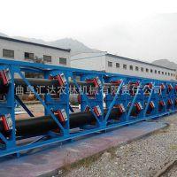 江阴圆管带式输送机 输送各种粉状物料大提升量