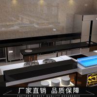 专业设计 自助餐厅厨房效果设计装横 自助餐厅厨房效果图设计