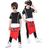 新款街舞表演服 儿童舞蹈斗牛士演出服装现代爵士舞表演服一件批