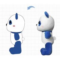 定做毛绒玩具爆款网红玩具定制 熊猫毛绒公仔吉祥物OEM来图订做