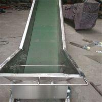 铝型材皮带机铝型材输送带耐高温 电子原件传送机