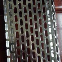 镇江椭圆冲孔网板 5*20mm优质镀锌冲孔网 尺寸可定制