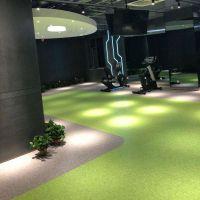 承接潍坊地区健身房专用pvc塑胶地板、弹性地垫、瑜伽专用地板、功能地垫