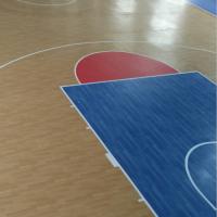 供应北京PVC塑胶地板/枫木纹pvc运动地板/欧宝瑞篮球专用地胶