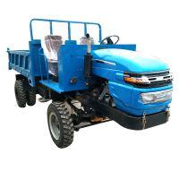 柴油机动农用四不像 建筑工地运输车 新乡转弯大四轮拖拉机