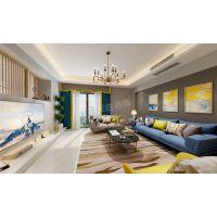 南滨特区装修|重庆南滨特区大平层户型装饰设计|天古装饰