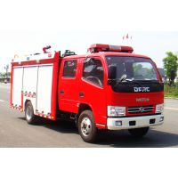 国五东风小多利卡2吨水罐消防车价格图片生产厂家