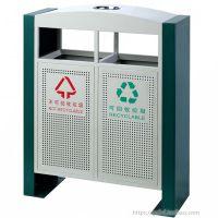 户外分类垃圾桶烤漆校园垃圾箱分类小区景区收纳桶街道垃圾箱