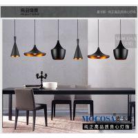 餐厅灯吊灯简约现代餐桌吧台客厅欧式吊灯水晶阳台单头饭厅餐吊灯