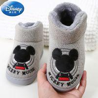一件代发2018新款儿童棉鞋 冬季家居卡通儿童靴子 包跟保暖童靴