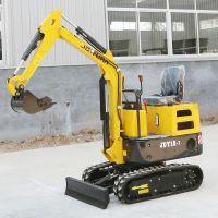 液压小型挖掘机生产厂家 农用挖掘机视频