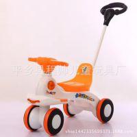 儿童滑行车助步车宝宝玩具车四轮手推扭扭车1-6岁学步车带音乐