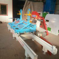 厂家直销 圆木推台锯机350型 原木开板锯 科峰木工机械制造