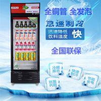 啤酒展示柜冷藏立式冰柜饮料保鲜单双门