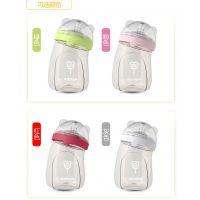 韩国杯具熊正品PPSU婴儿奶瓶防摔防胀气 塑料奶瓶240ml