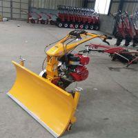供应柴油抛雪机 13马力汽油铲雪机 手推式滚刷式扫雪机