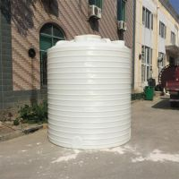 沈阳2000L塑料水箱 5吨PE圆桶 耐酸碱2吨平底水箱