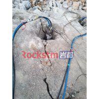 地基建设坚硬石头劈裂器一套多少钱-岩都科技