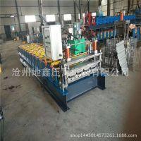 快速压瓦机 导柱剪切840单板机 单层彩钢瓦成型设备