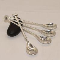 999纯银咖啡勺搅拌纯银勺子礼品迷你银餐具银勺可客户要求定制