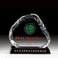 定制透明亚克力水晶胶工艺品 有机玻璃无缝热压奖牌工艺制品