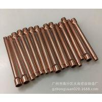 供应紫铜毛细管 制冷铜管扩口缩口 倒角去毛刺 管端成型加工