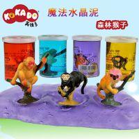 KOKADO/高佳多魔法水晶泥大桶装超轻黏土彩泥儿童过家家玩具