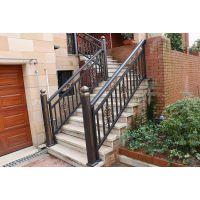 湖南厂家直销斜爬式铝合金楼梯扶手室内楼梯围栏