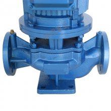 ISG50 -125A立式管道离心泵化工离心油泵单级自吸泵排污泵耐腐蚀管道泵