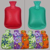厂家直销2018新款热水袋 注水 广州货源暖手袋橡胶pvc热水袋布套