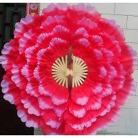 开场舞蹈牡丹花扇大花瓣舞蹈扇广场舞团体操活动道具舞台演出扇子