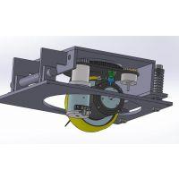汽车生产线潜伏式搬运agv单舵轮磁导引方案 整车项目意大利CFR舵轮