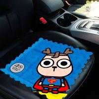 汽车车用凉垫问童子冰垫创意超级英雄深海老虎哈士奇萌熊系列坐垫