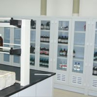 实验室设备 医院PP药品柜 实验室安全操作台 通风橱 落地式全钢柜