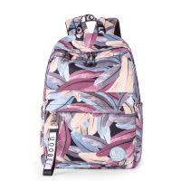 厂家批发学生双肩包 20-35L中运动防水耐磨牛津布背包定制印花户外旅行背包
