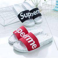 新款夏季super潮款拖鞋凉拖批发潮拖鞋塑料拖鞋 室内居家防滑
