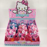 HelloKitty 凯蒂猫 KT猫卡通拉杆小行李箱过家家儿童益智公仔玩具