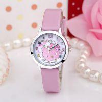 可爱儿童手表女孩 小学生韩版可爱女童手表 卡通表