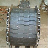 热销供应挡板式链板 侧弯滚子链输送带 各种材质流水线耐用