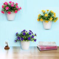 饰品客厅壁挂花盆仿真绿植物墙上卧室内墙壁装饰花篮挂件创意墙面