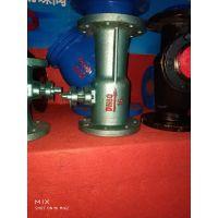 张家港手动法兰一体式球阀 QJ41M-16 DN50 法兰高温一体式排污球阀真正产地厂家DNV