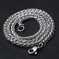 男士项链316不锈钢链条diy饰品配件钛钢个性项链欧美热销龙骨链批