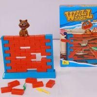 小孩益智拼装玩具Wall Game快乐拆墙猫 砌墙桌面亲子互动游戏玩具